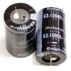 خازن 63 ولت 10000 میکروفاراد