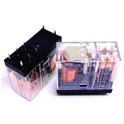 رله 110 ولت AC شیشه ای 8 پایه 5 آمپرG2R-2-110VAC