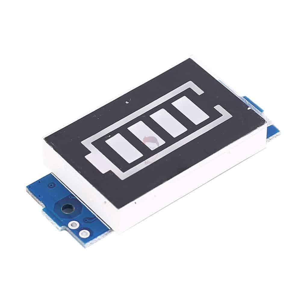 شارژر و نمایشگر باتری 3 سل لیتیوم