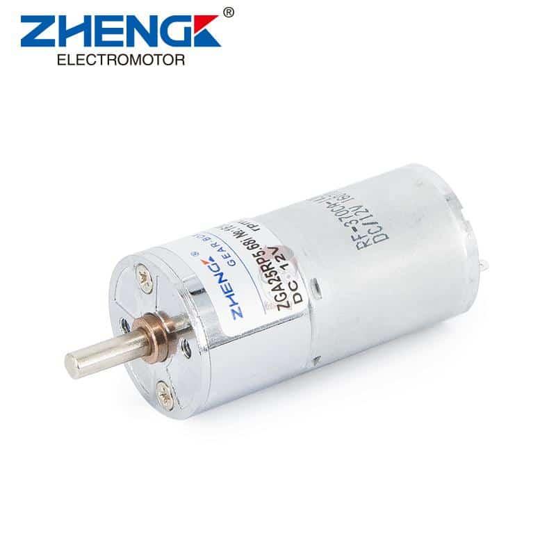 موتور گیربکسی 12 ولت ZGA25RP
